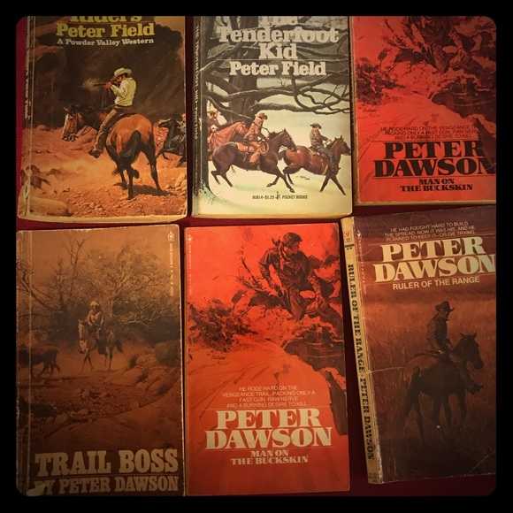 Image result for peter dawson western author